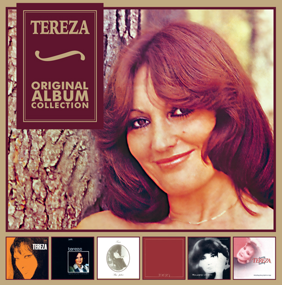 BOX SET ORIGINAL ALBUM COLLECTION - TEREZA KESOVIJA\\\