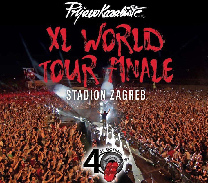 XL WORLD TOUR FINALE, STADION ZAGREB (CD)