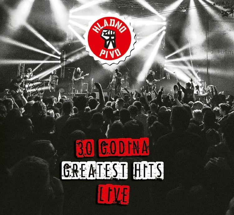 HLADNO PIVO 30 GODINA – GREATEST HITS - LIVE 2CD+BLU-RAY