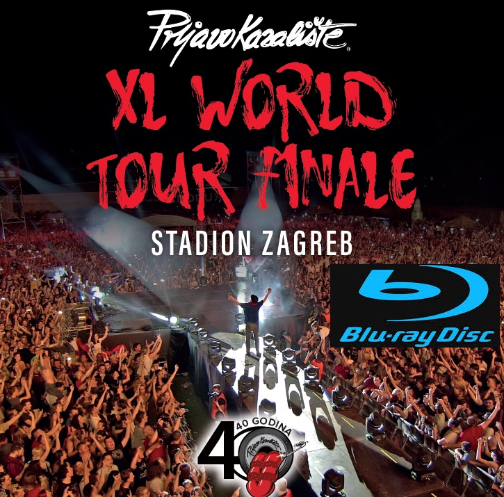 XL WORLD TOUR FINALE, STADION ZAGREB (BLU-RAY)
